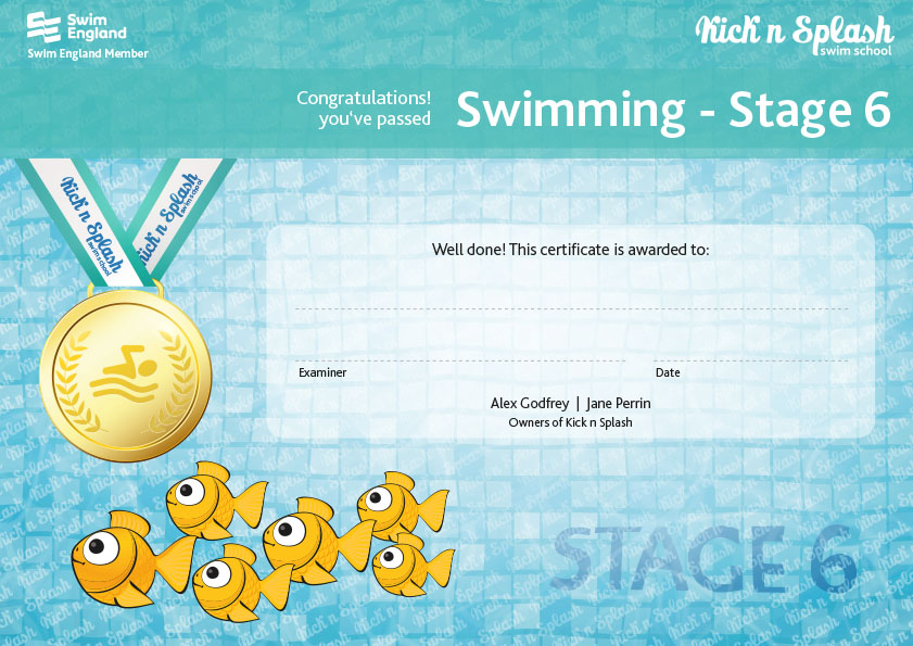 Swimming Stage 6 Certificate